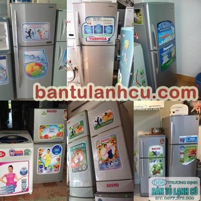 cung cấp nhiều loại tủ lạnh cũ, máy giặt cũ giá rẻ tại 666 Trương Định 0974557043