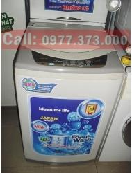 Máy giặt Sanyo 6.5kg cửa trên lòng inox không rỉ, chưa sửa chữa.