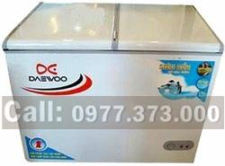 tủ đông cũ daewoo 320 lít, hai chế độ.