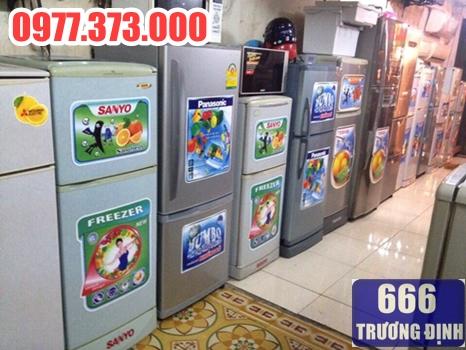 cần mua tủ lạnh cũ thanh lý, đến 666 Trương Định 0977373000