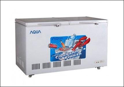 tủ đông 1 ngăn Tủ đông Aqua AQF-500C mới nguyên hộp, bảo hành 18 tháng.