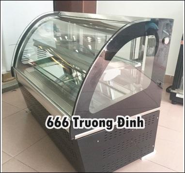 thanh lý tủ bảo quản bánh kem 90cm, tủ bánh mini, tủ bánh để bàn