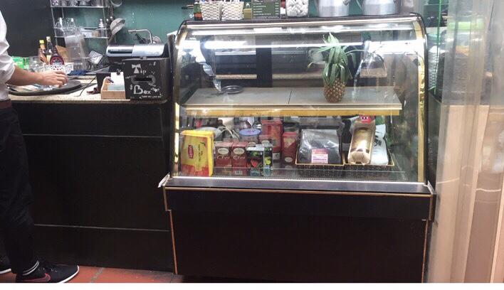 thanh lý tủ trưng bày bánh kem 1,2m giá rẻ