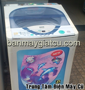 Bán máy giặt cũ sanyo 6.8kg, bền, đẹp