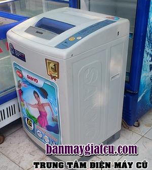 bán máy giặt cũ sanyo 6.8kg đẹp