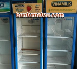 Bán tủ mát Vinamilk cũ 300 lít giá rẻ