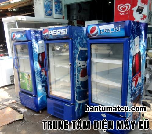 Tủ mát cũ sanaky giá rẻ Hà Nội. ban tu mat cu