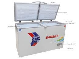 Tủ đông Sanaky 409 lít dàn đồng mới 100%, bảo hành 12 tháng, giá  5.6 triệu tại 666 Trương Định