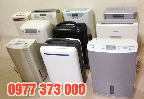 đại lý máy hút ẩm cũ, hàng nhập khẩu, giá rẻ nhất