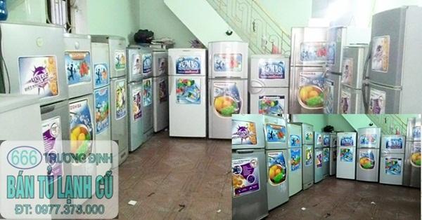 tủ lạnh cũ toshiba không đóng tuyết giá chỉ từ 1.800k