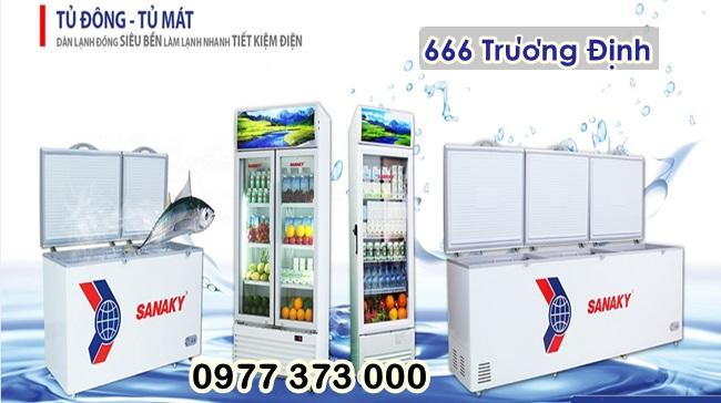 tủ đông kính, tủ trưng bày siêu thị  809 lít, mới, bảo hành 12 tháng.