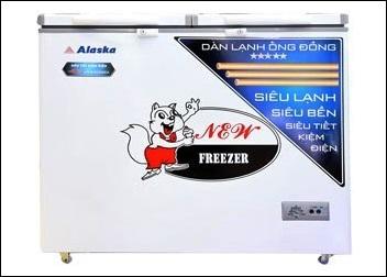 TỦ ĐÔNG ALASKA 2 NGĂN BCD-3068C giá 4.5 TRIỆU