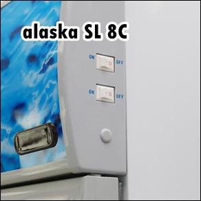 Tủ Mát 2 Cánh Mở Ngang Alaska SL-8C 800 lít giá