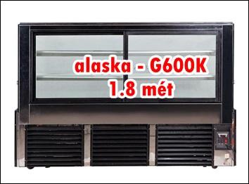 Tủ Quầy Bánh Alaska G-600K 1.8 mét giá bán 26 triệu