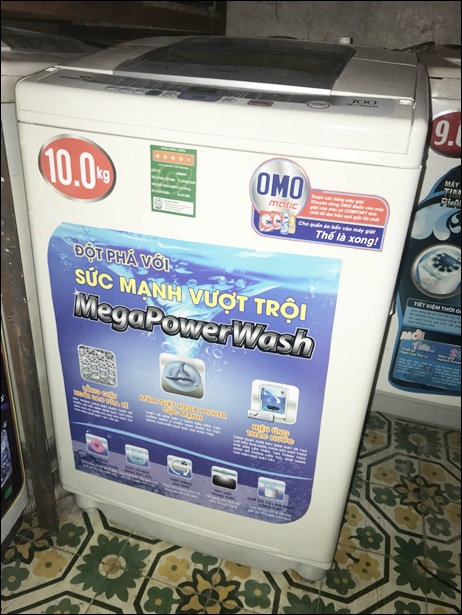 Bán thanh lý máy giặt Hitachi 10kg japan