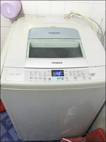Máy giặt hiatachi 12 kg, bền, đẹp, chạy êm.