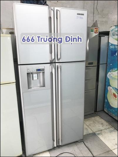tủ lạnh 4 cửa 550 lít, Hitachi Nhật xịn