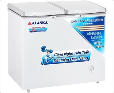 tủ đông mát 250 lít alaska mới 100 %. Alaska BCD 3068C