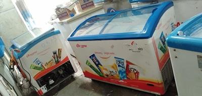 kho tủ kem qua sử dụng, độ mới cao