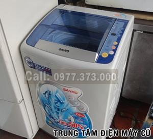 máy giặt sanyo cũ 7kg