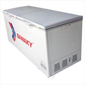 bán thanh lý tủ đông 2 cánh 1 ngăn dung tích 1.000 lít sanaky