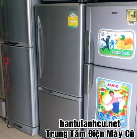 tủ lạnh cũ toshiba 180 lít, mới 90%, giá rẻ tại 666 Trương Địn...
