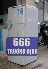 tủ lạnh 150 Lit, hiệu daewoo Hàn Quốc, không đông tuyết.