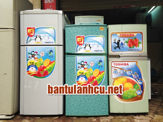 Thanh lý tủ lạnh, máy giặt cũ giá rẻ tại Hà Nội
