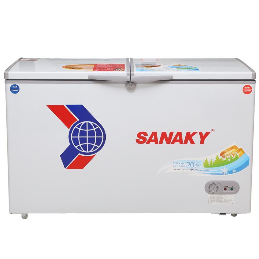 Tủ đông Sanaky 409 lít dàn đồng mới 100%, bảo hành 12 tháng, g...