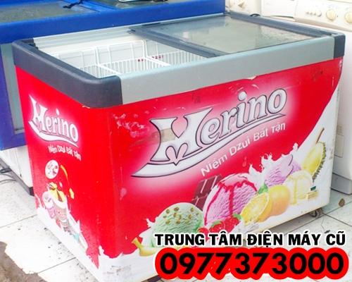 Bán thanh lý tủ đông kem nắp kính merino 300 lít 420 lít, giá re...