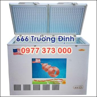 tủ bảo quản 2 ngăn dàn đồng denver ( malaysia ) bảo hành 12 thán...