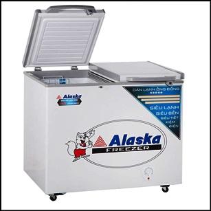 Tủ đông mát Alaska BCD3068N (250 lít),2 ngăn đông mát