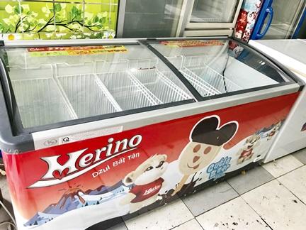 tủ kem merino 700 lít đẹp như mới.