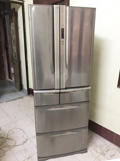 tủ lạnh 6 cánh Toshiba nội địa nhật inverter tiết kiệm điện...