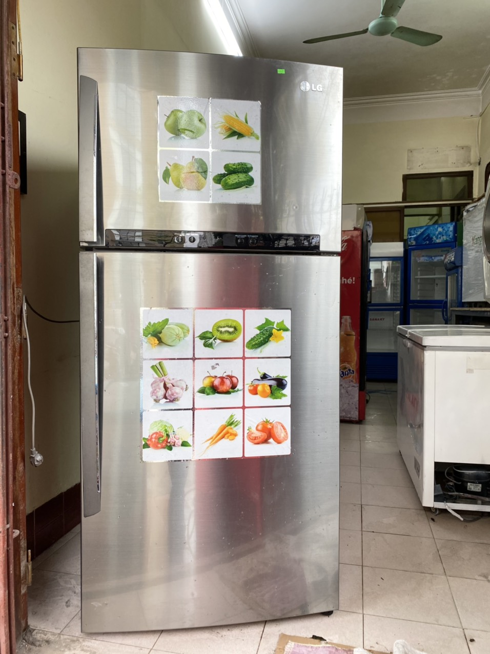 Tủ lạnh LG 520 lít , made in Indonesia