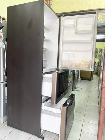 tủ lạnh đá rơi Hitachi inverter như mới 305 lít ( Thái Lan)